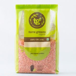 Terra Greens Organic - Masoor Dal 500g