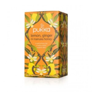 Lemon Ginger and Manuka Honey Tea - 20 Bag-Pkt