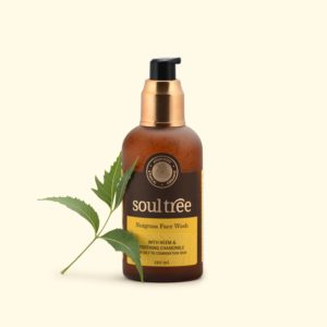 Nutgrass Face Wash with Neem & Soothing Chamomile