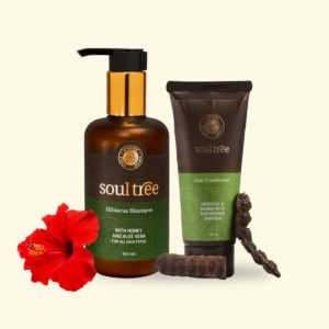 Hibiscus Shampoo & Hair Conditioner Set