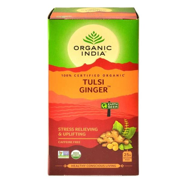 Tulsi Ginger 25 Tea Bags