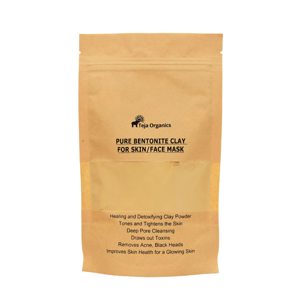 Pure Bentonite Clay for SkinFace Mask 100 gm