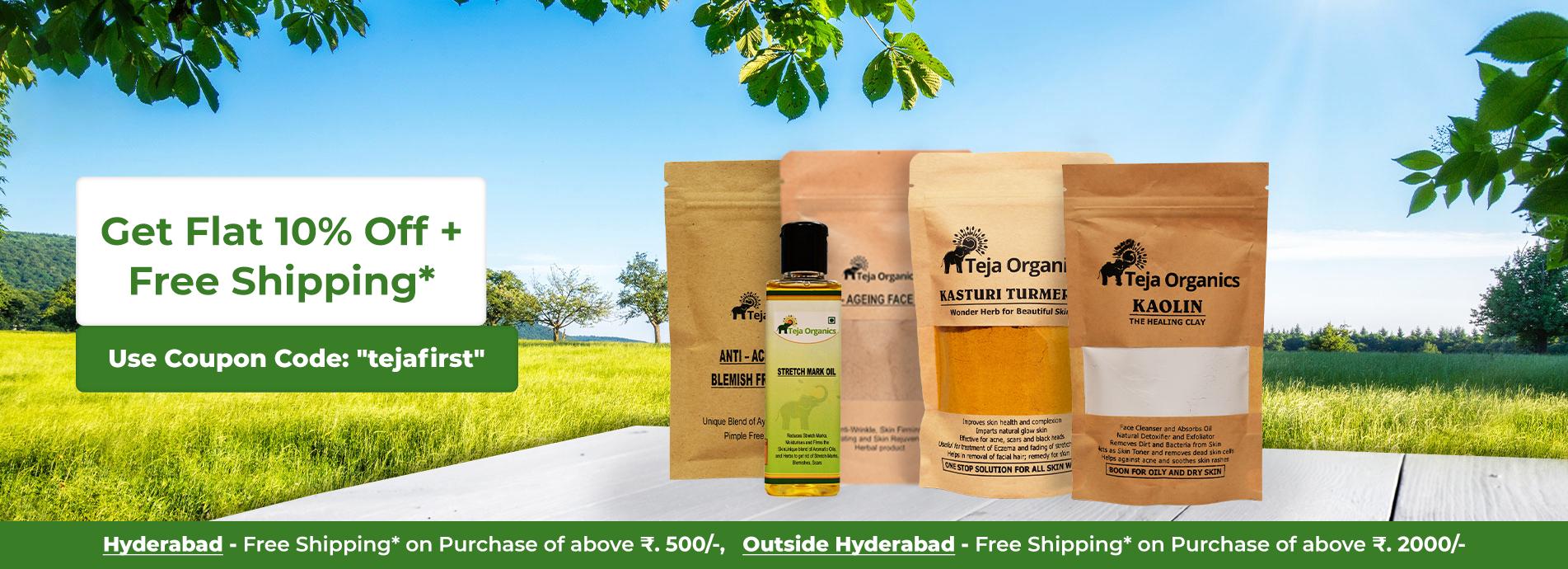 Teja Organics - Skin Care