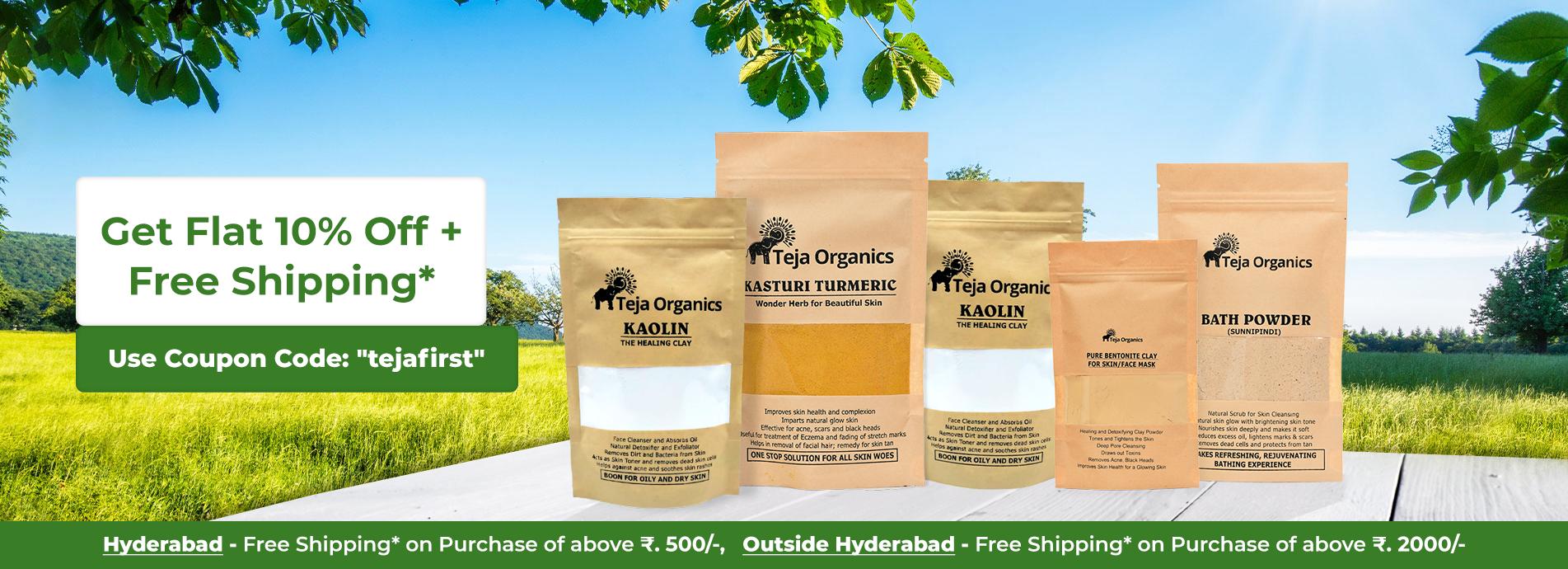 Teja Organics - Skin & Face Care